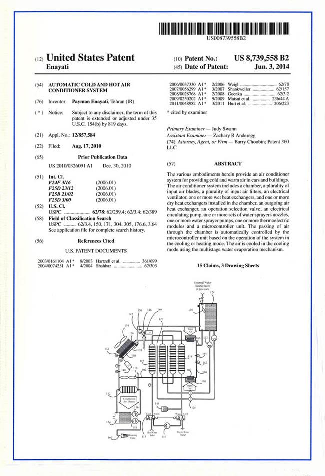 inventions - ZANIDJ Ind  R&D Co  Ltd